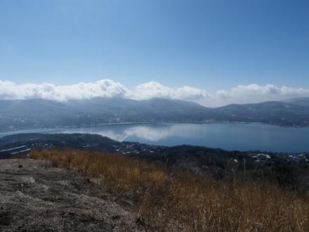 太平山からの山中湖&三国山方面