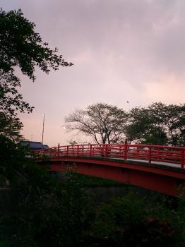 三井山夕焼け
