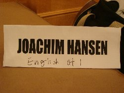 Joachim Hansen!