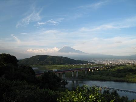 富士の見えるSA