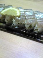 炙り太刀魚の押し寿司