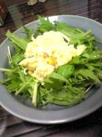ポテサラ水菜サラダ