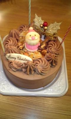 2008クリスマスチョコケーキ