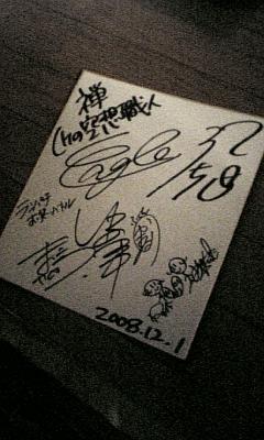 記念サイン☆