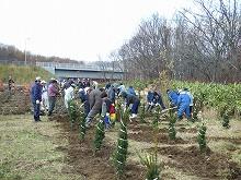 081025植樹祭の様子
