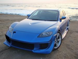 MAZDA RX-8 と BLMSアクセラ(Mazda3 MPS) と 通販衝動買いの旅 第2章 (通販商品画像レビューblog)