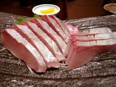 長浜の魚がしで安ウマ晩ごはん♪