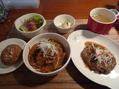 熊本市東部のand cafe(アンドカフェ)でよくばりランチ♪