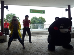 みんなで踊ろう!くまモン体操大集合☆