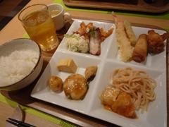 熊本市北部の菊南温泉ユウベルホテル内 自然食レストラン ナチュラでバイキング♪