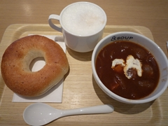 熊本駅の&SOUP(アンドスープ)でモーニング!
