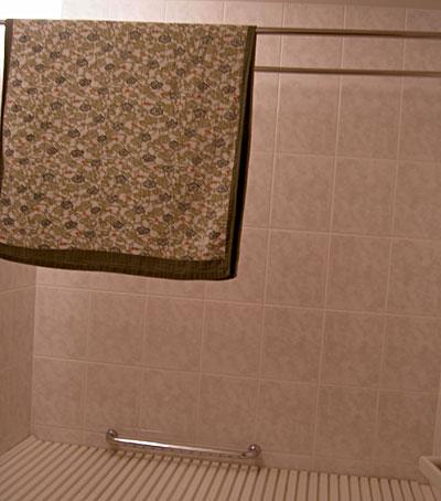 バスルームはナナのベッドルーム?4