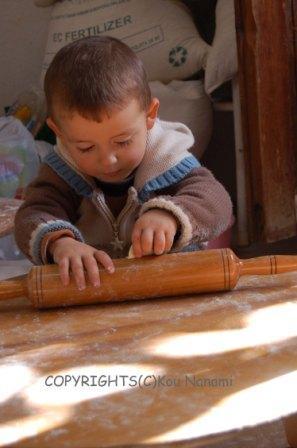 トルコの男の子