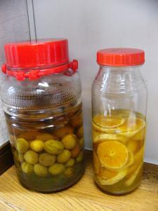 梅酒&オレンジ酒