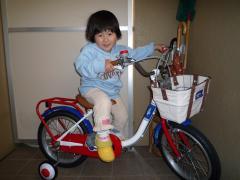 あーちゃんの自転車