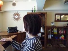 ナッツの髪型