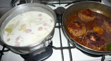 スープ&ハンバーグ