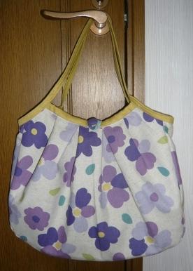 花柄グラニー 紫