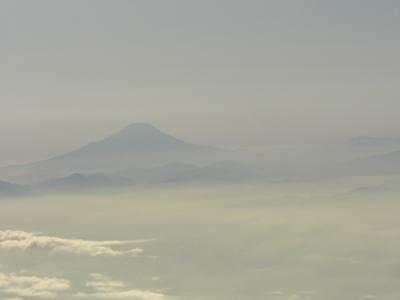 上空より富士山