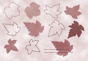 Leaves-brushes-by-arkayaSto
