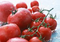 トマトの寒天寄せ