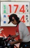 170円を超えたガソリン代