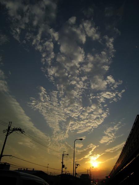 ディーラーからの帰り道@R171(by IXY DIGITAL 910IS)