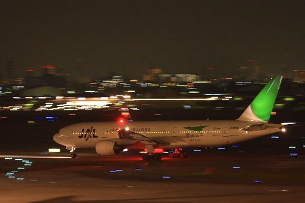 JAL B777-246 JL134@ラ・ソーラ(by 40D with EF100-400)
