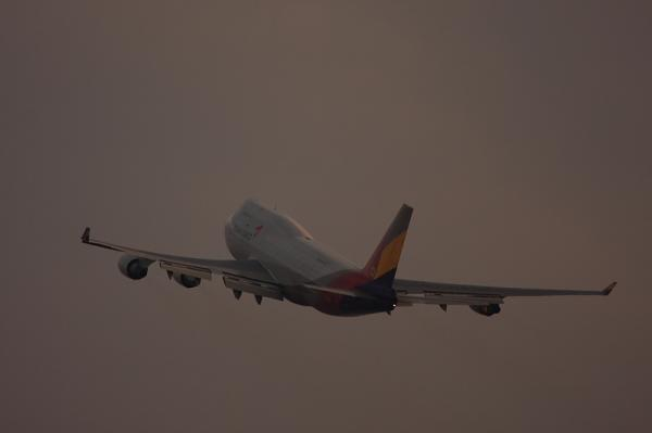 Asiana Cargo B747-48EF@セントレア・スカイデッキ(by 40D with EF100-400)