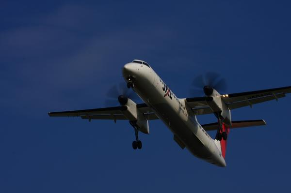 JAC DHC8-Q400 3X2406@東水門(by 40D with EF100-400)