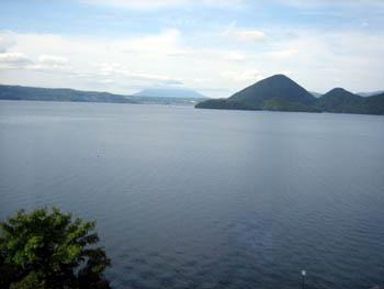洞爺湖でーす