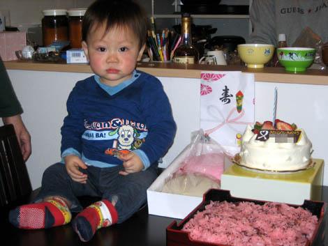 ゆーくん1歳おめでとう!