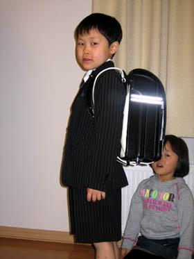 入学式の準備は万端