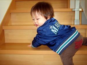 階段上っちゃうぜ
