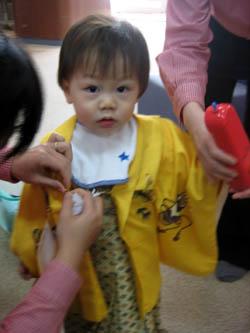 ゆーくんのちょっと遅めの1歳写真撮影