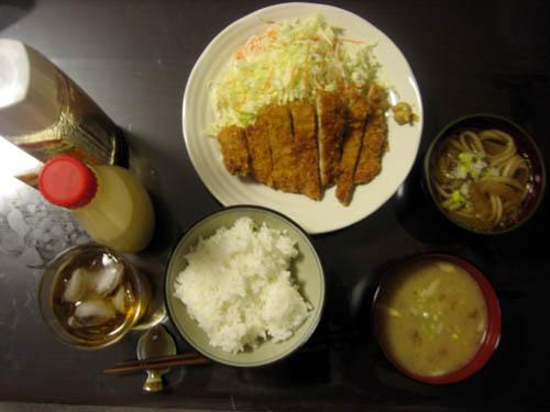 2008年10月29日の晩御飯
