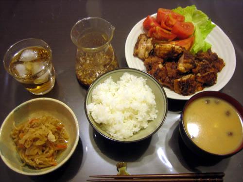 2008年10月30日の晩御飯