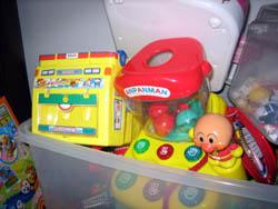アンパンマンのおもちゃ