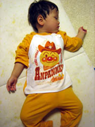アンパンマンのパジャマ