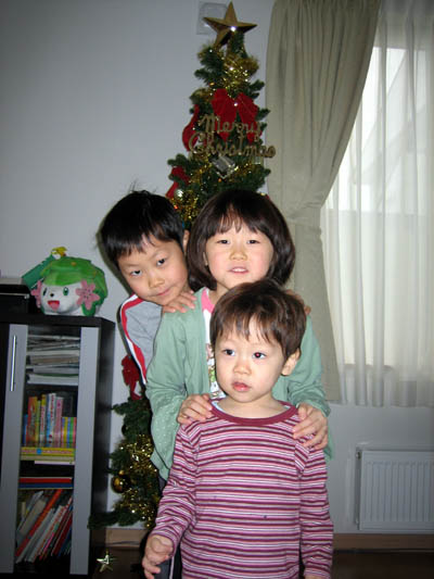 みんなでクリスマスツリー飾ったよ