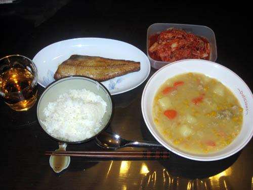 2008年12月4日の晩御飯
