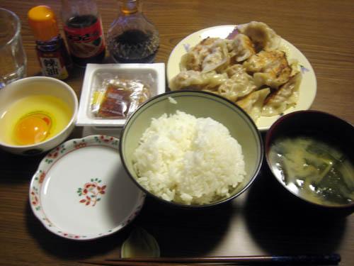 2008年12月5日の晩御飯
