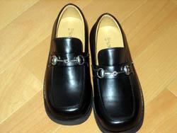 かーくんの発表会用の靴