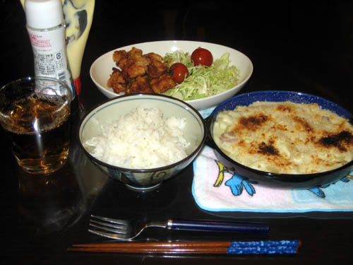 2008年12月10日の晩御飯