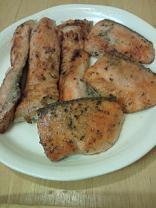 鮭香草焼き