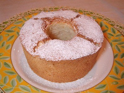 エンゼルフードケーキ1