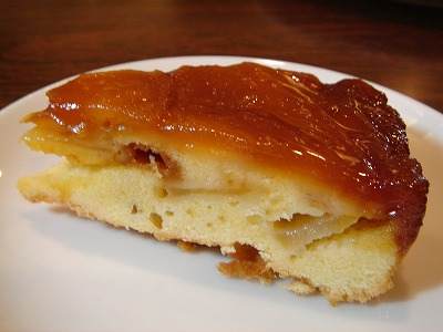 リンゴのアップサイドダウンケーキ3