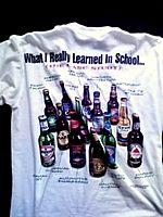 ビールTシャツ