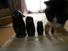 猫マトリョーシカ8116