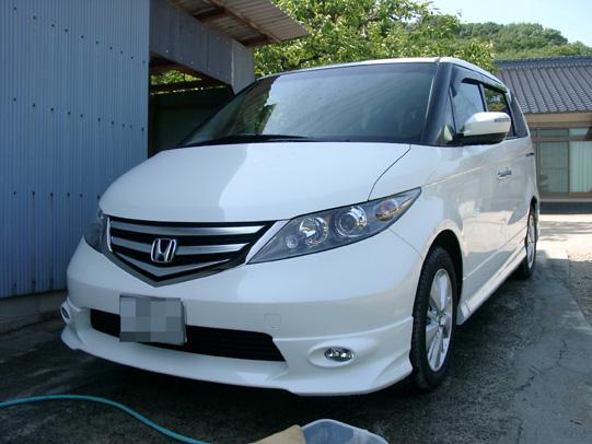 2008.5.6エリシオン洗車 1